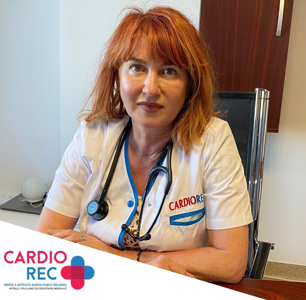 Dr. Anca Tau - Consultatii Cardiologie, interpretare de EKG, EKG de efort, Holter TA si Holter EKG si ecografii de cord