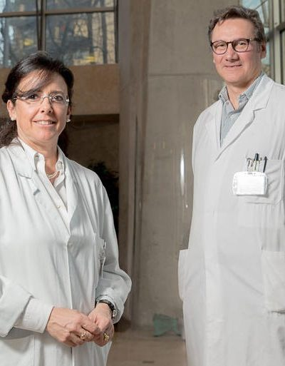 Prof Laura Fugazzola si Prof Luca Persani - medici de top CardioRec - Auxologico
