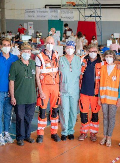 Hub de vaccinare Meda - voluntarii au invins Covid